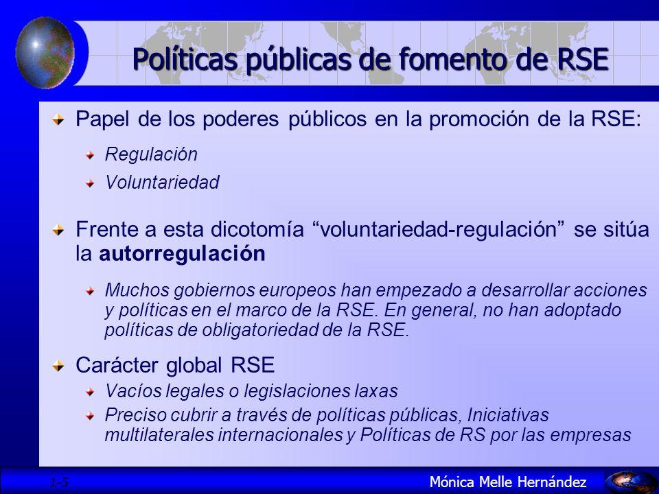 Políticas públicas de fomento de RSE