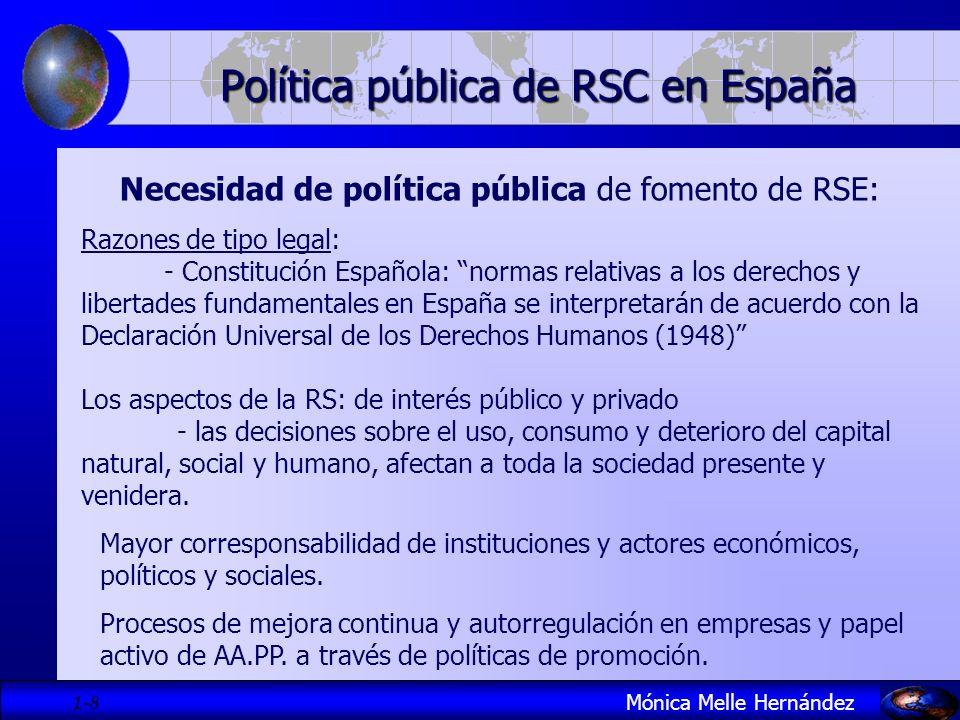Política pública de RSC en España