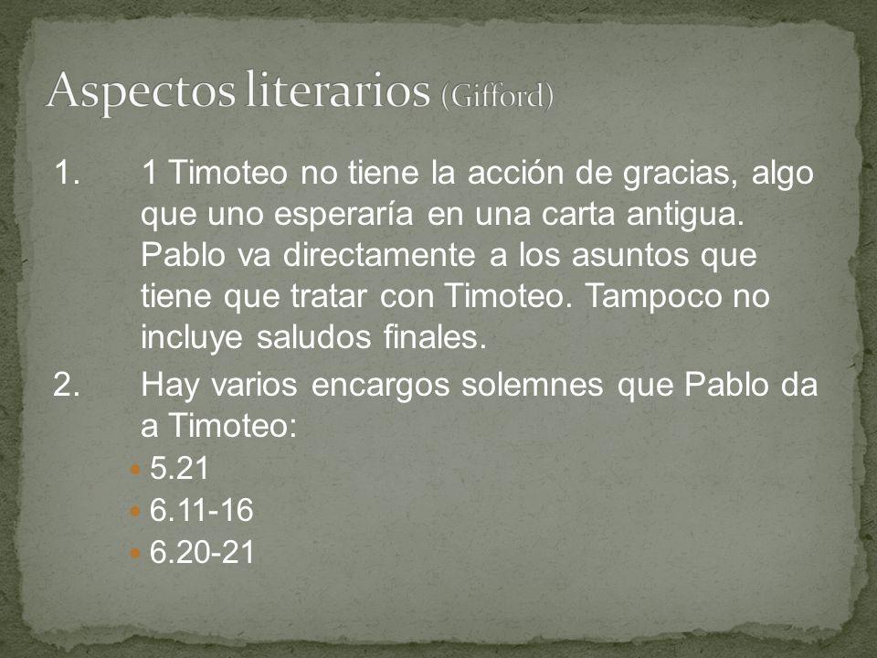 Aspectos literarios (Gifford)