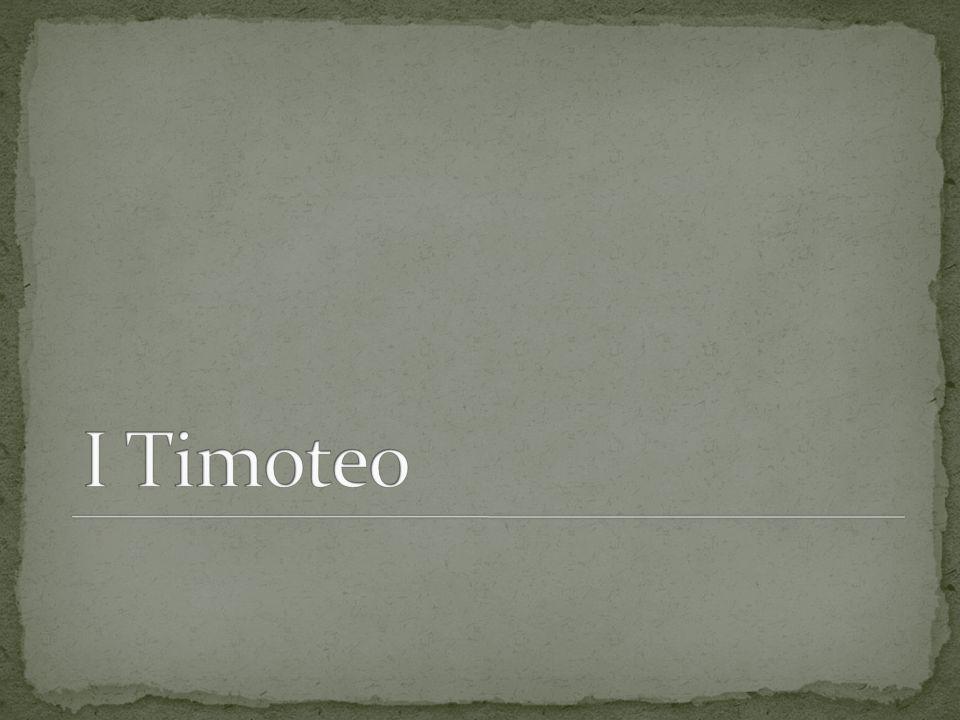 I Timoteo