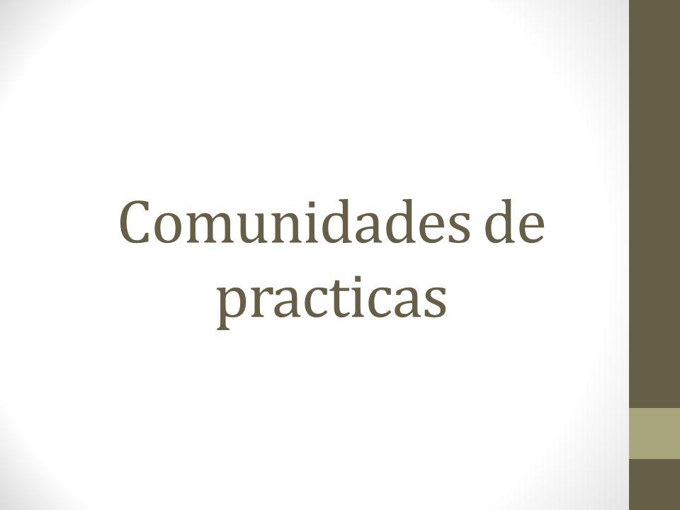 Comunidades de practicas
