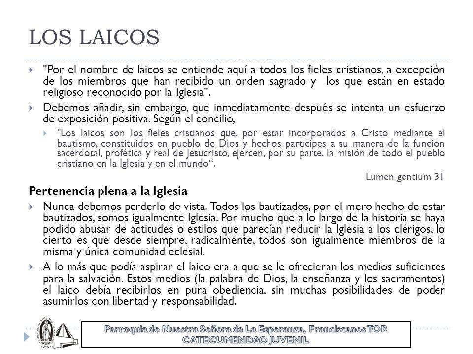 LOS LAICOS