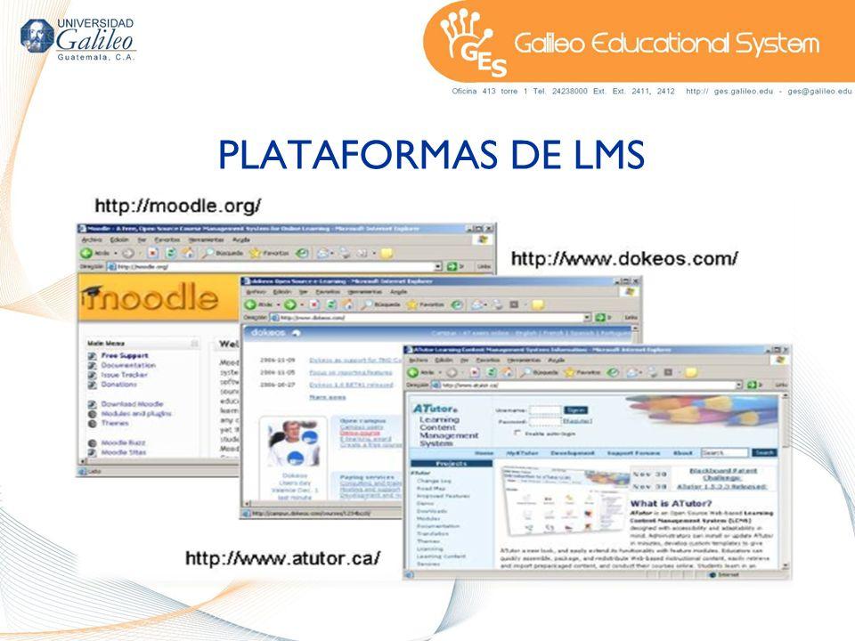 PLATAFORMAS DE LMS