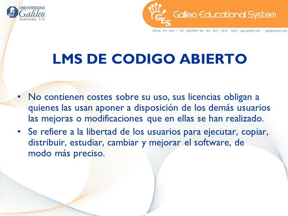 LMS DE CODIGO ABIERTO