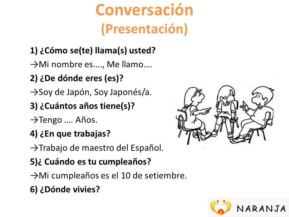 Conversación (Presentación)