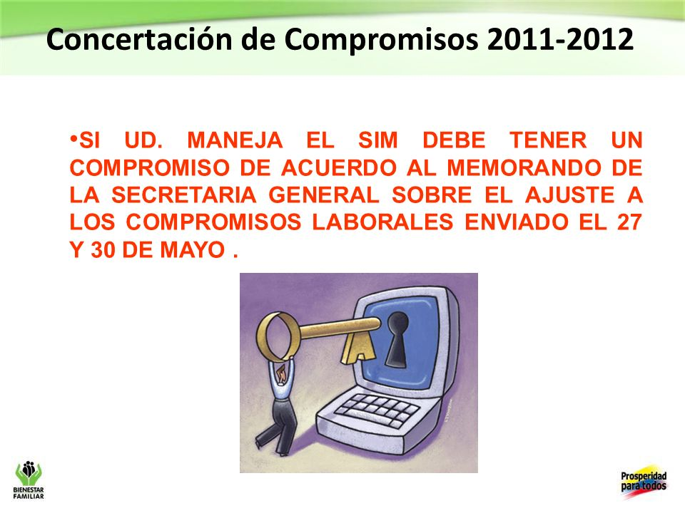 Concertación de Compromisos 2011-2012