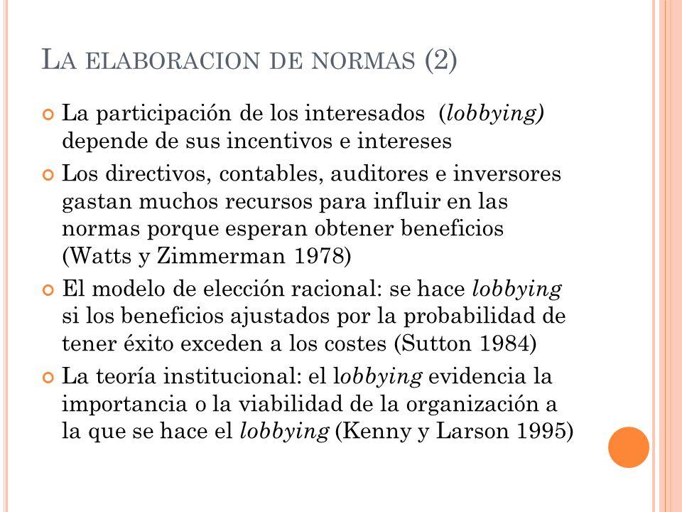 La elaboracion de normas (2)