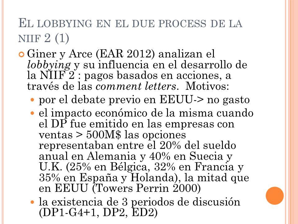 El lobbying en el due process de la niif 2 (1)