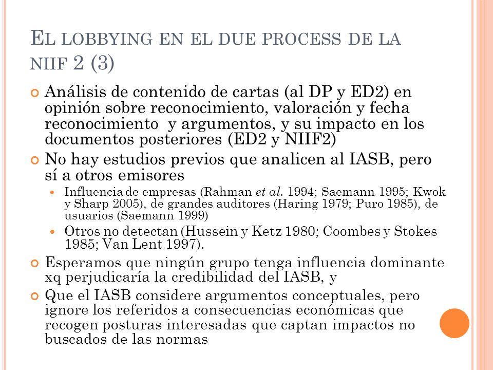 El lobbying en el due process de la niif 2 (3)