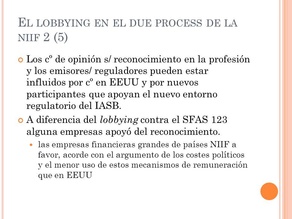 El lobbying en el due process de la niif 2 (5)