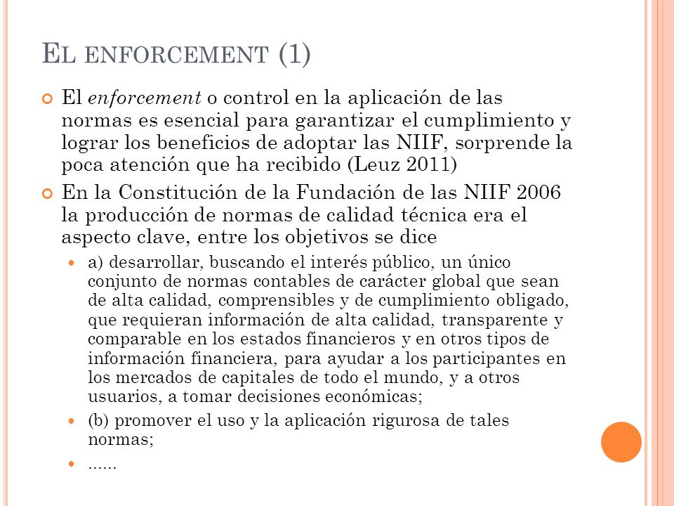 El enforcement (1)