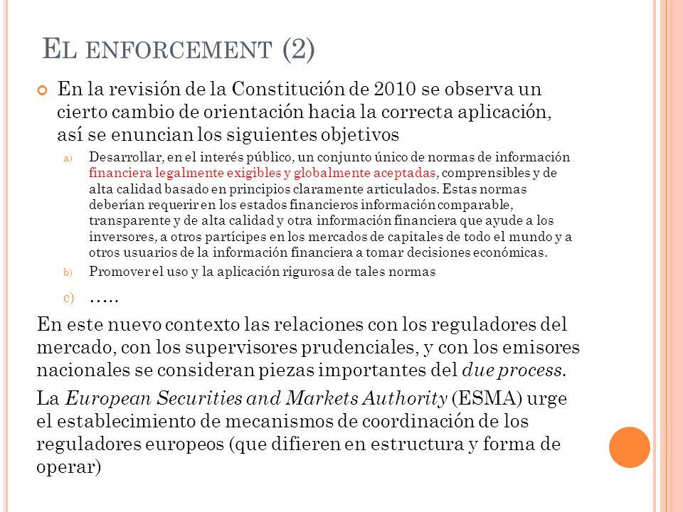 El enforcement (2)