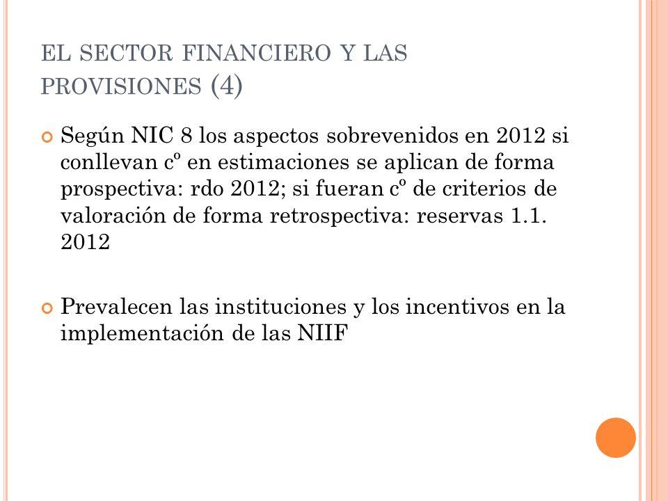 el sector financiero y las provisiones (4)