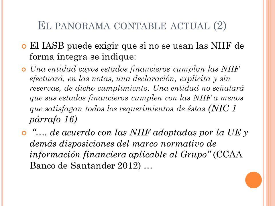 El panorama contable actual (2)