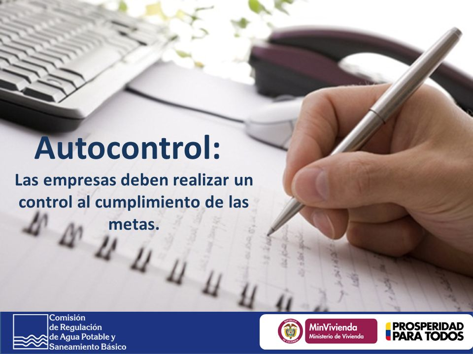 Las empresas deben realizar un control al cumplimiento de las metas.