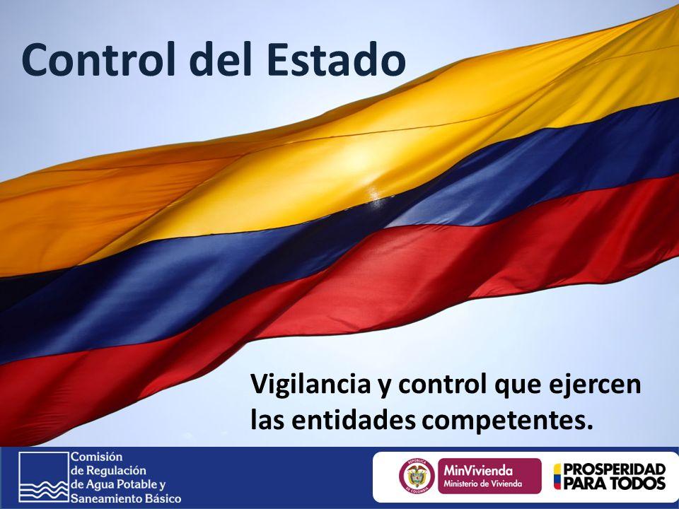 Control del Estado Vigilancia y control que ejercen las entidades competentes.