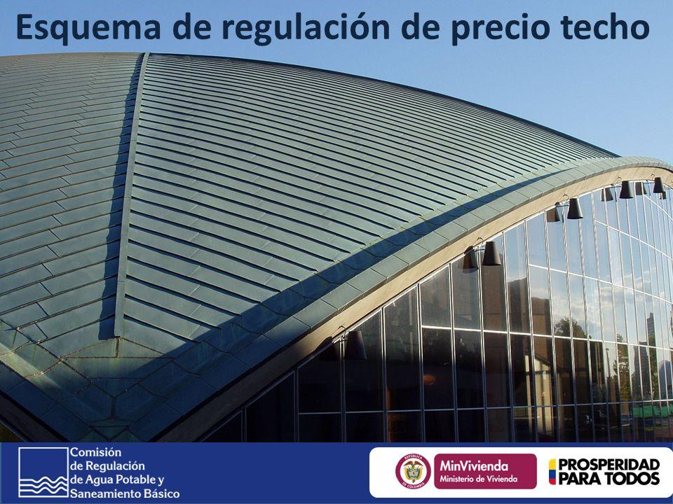 Esquema de regulación de precio techo