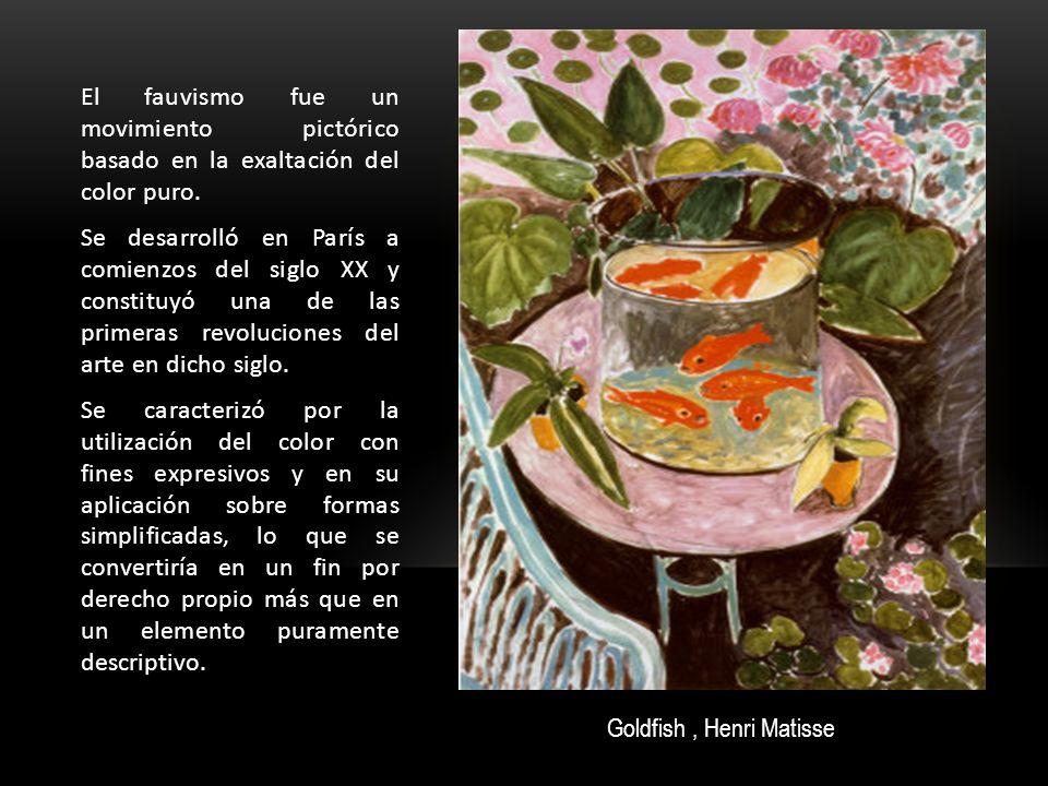 El fauvismo fue un movimiento pictórico basado en la exaltación del color puro.