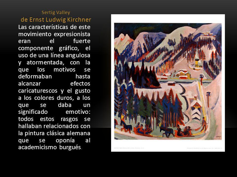 Sertig Valley de Ernst Ludwig Kirchner