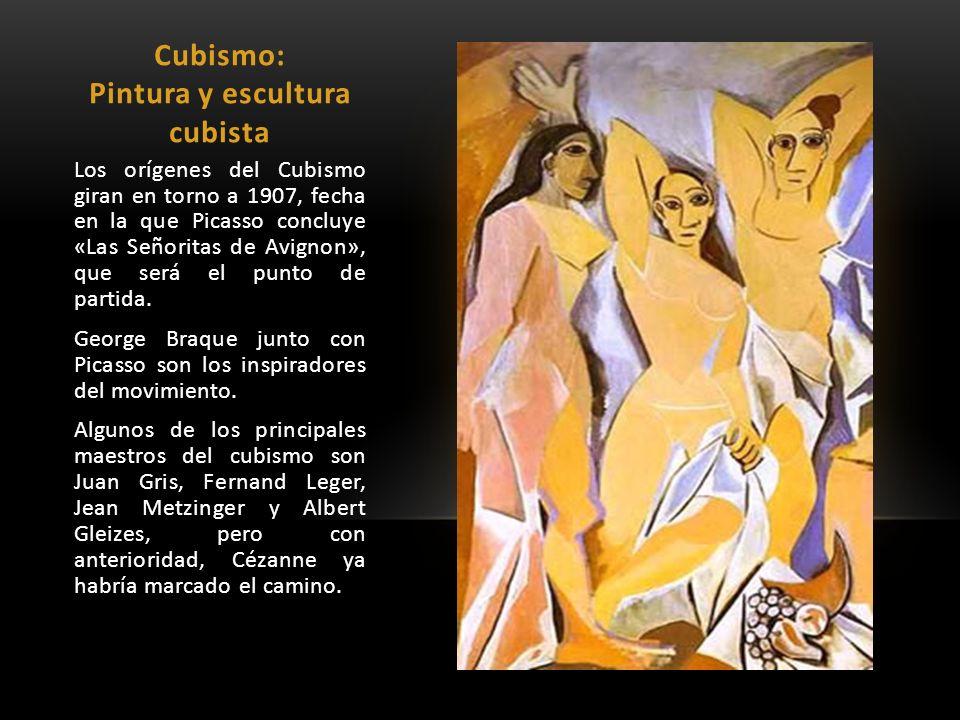 Cubismo: Pintura y escultura cubista