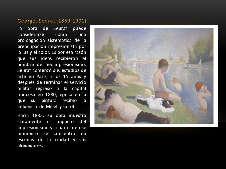 Georges Seurat (1859-1901)