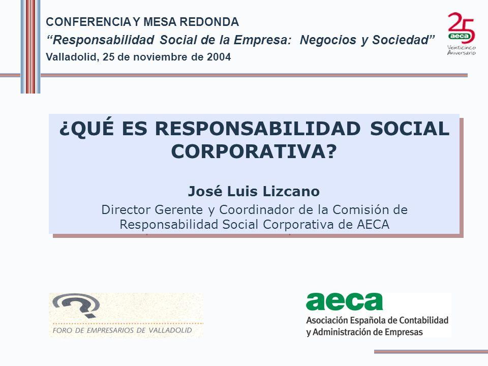 ¿QUÉ ES RESPONSABILIDAD SOCIAL CORPORATIVA