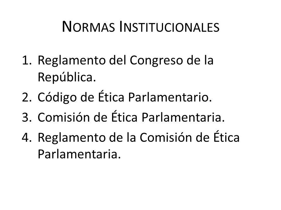 Normas Institucionales