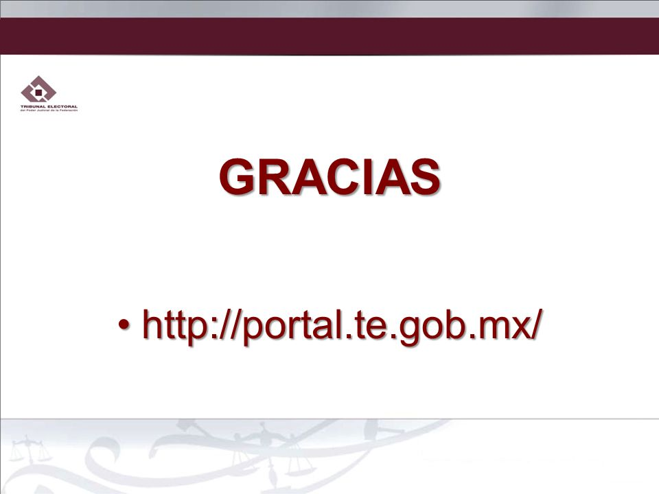 GRACIAS http://portal.te.gob.mx/