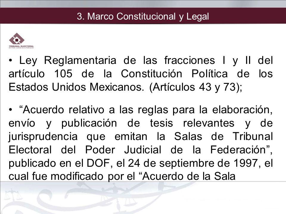 3. Marco Constitucional y Legal