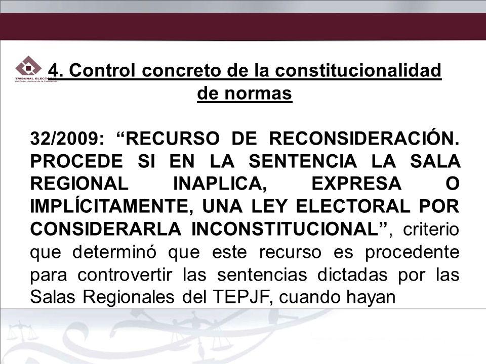 4. Control concreto de la constitucionalidad