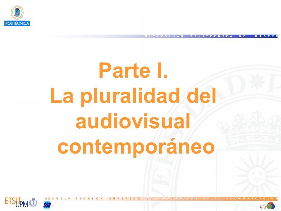 Parte I. La pluralidad del audiovisual contemporáneo