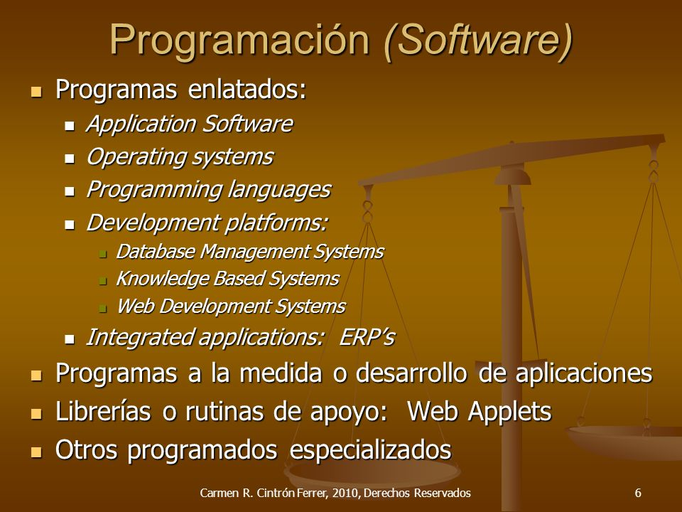 Programación (Software)