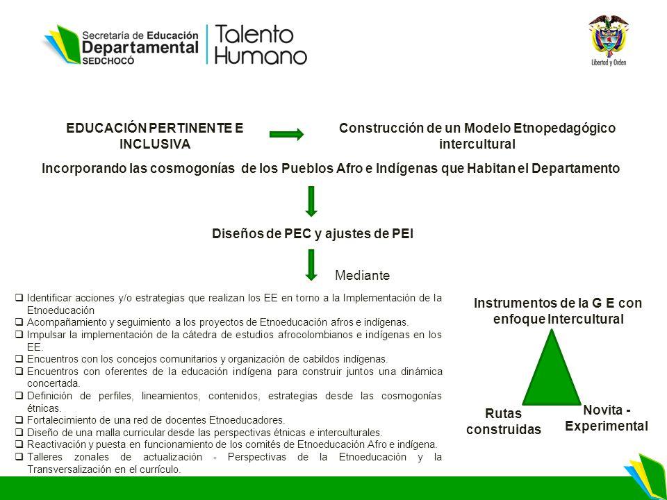 EDUCACIÓN PERTINENTE E INCLUSIVA