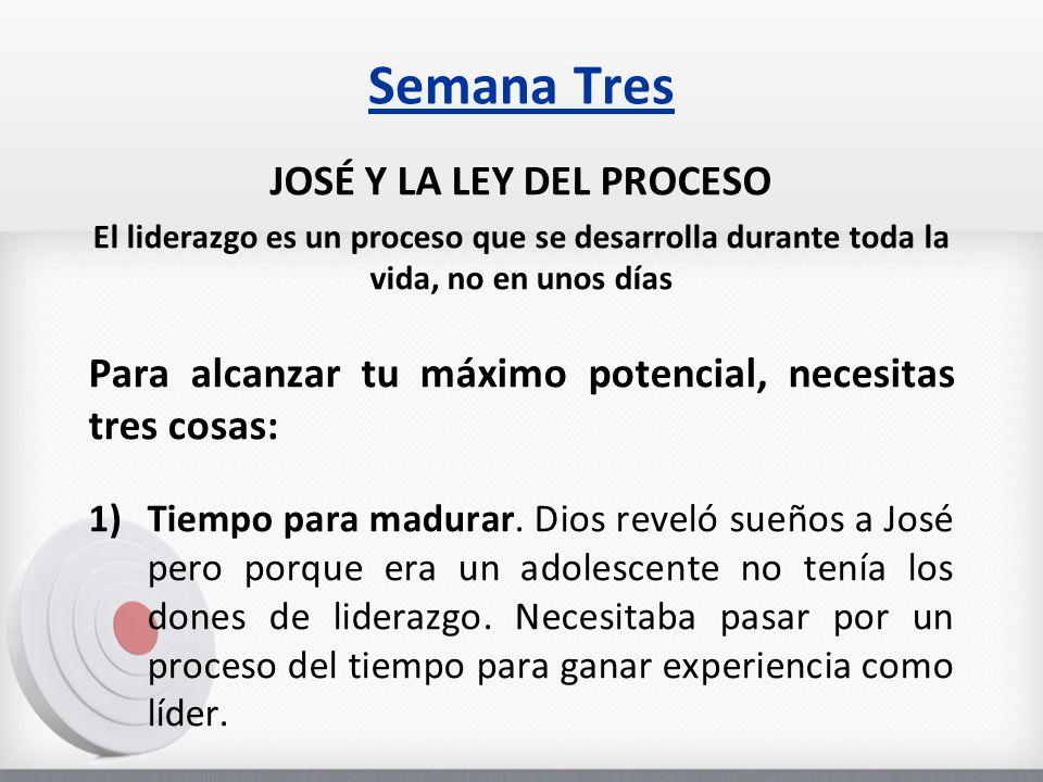 JOSÉ Y LA LEY DEL PROCESO