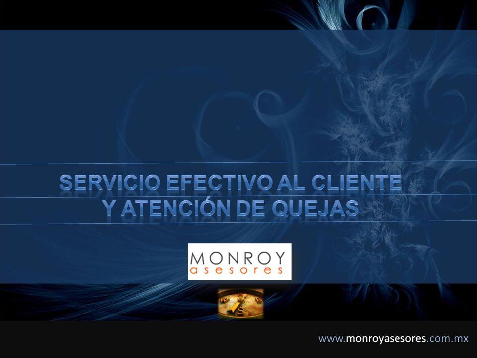 SERVICIO EFECTIVO AL CLIENTE Y ATENCIÓN DE QUEJAS