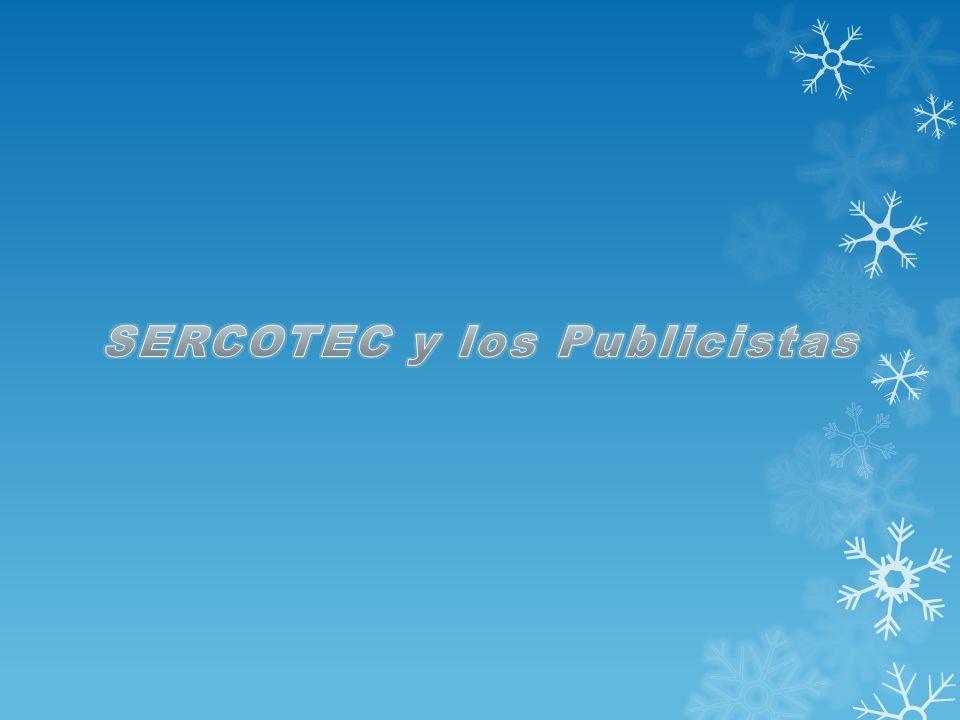 SERCOTEC y los Publicistas