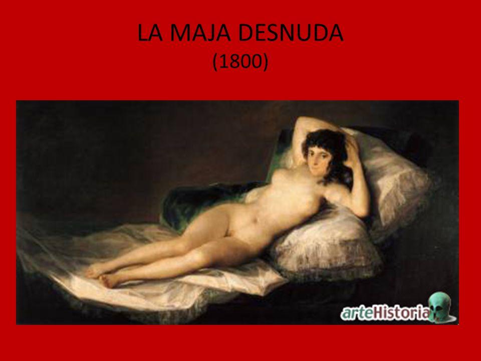 LA MAJA DESNUDA (1800)