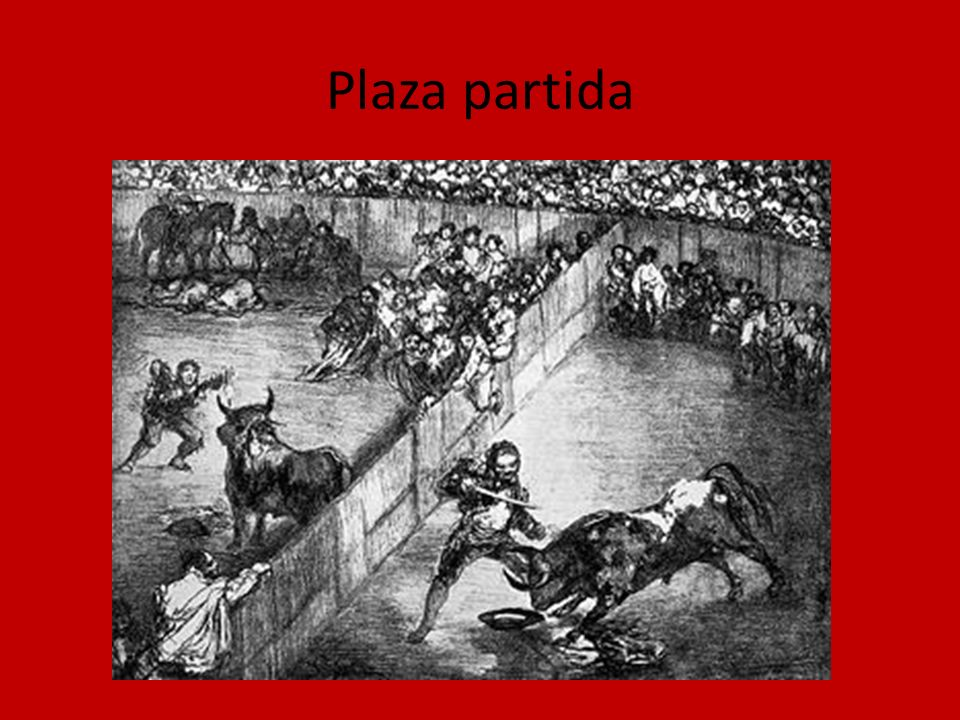 Plaza partida