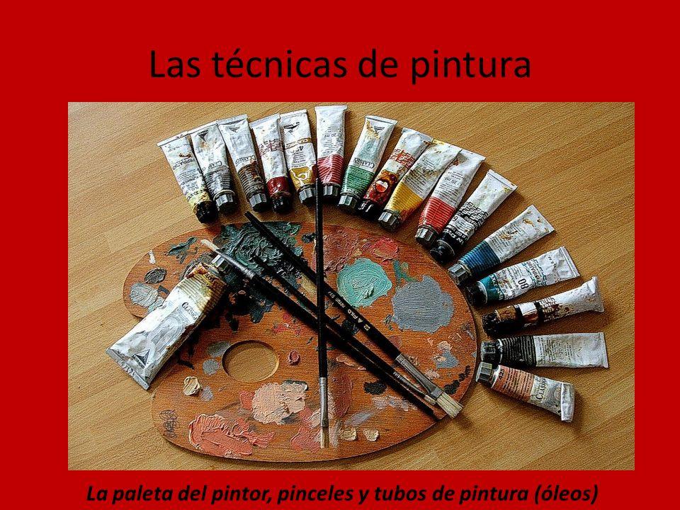 Las técnicas de pintura