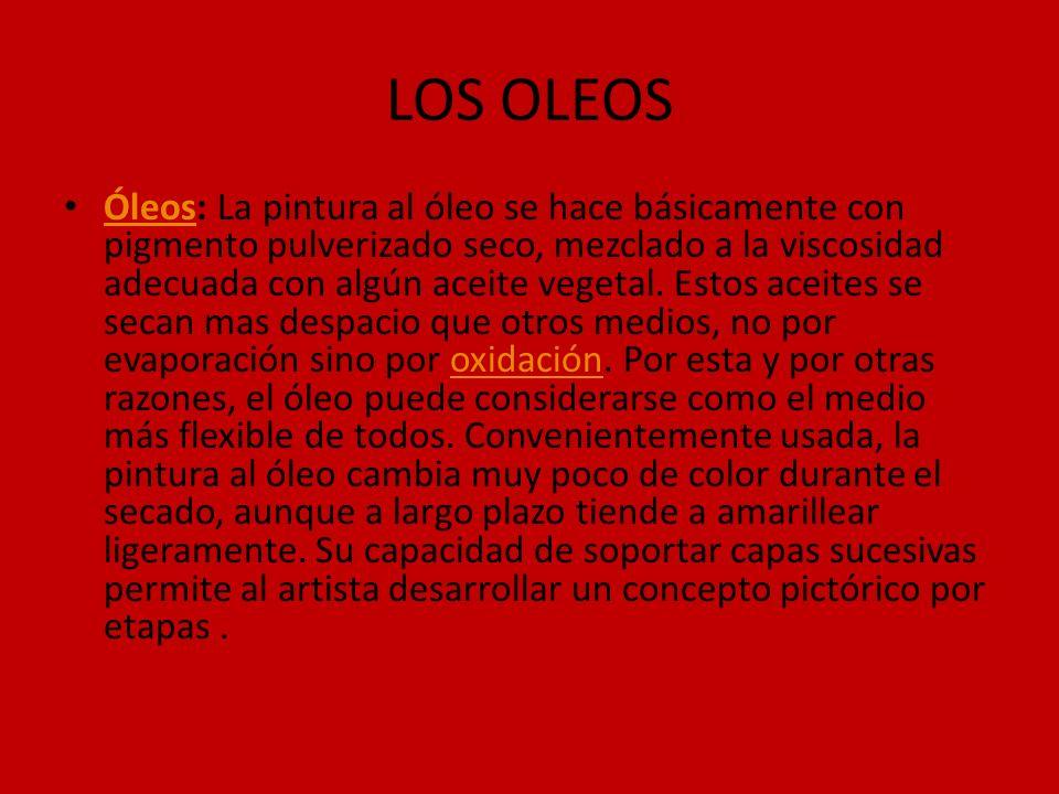 LOS OLEOS