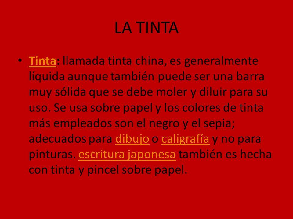 LA TINTA