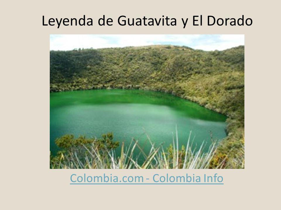 Leyenda de Guatavita y El Dorado