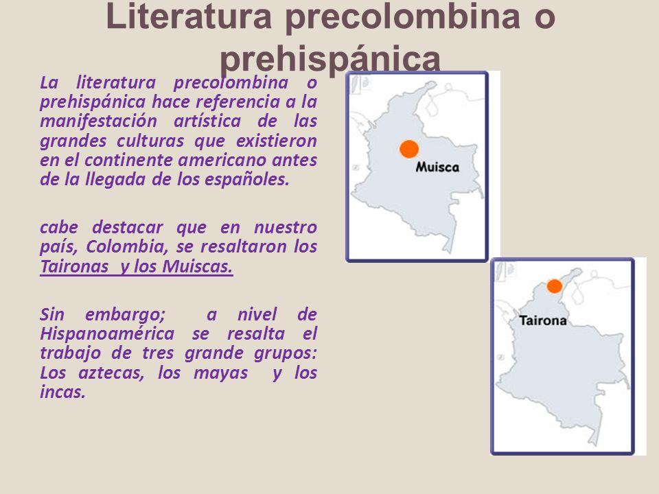 Literatura precolombina o prehispánica