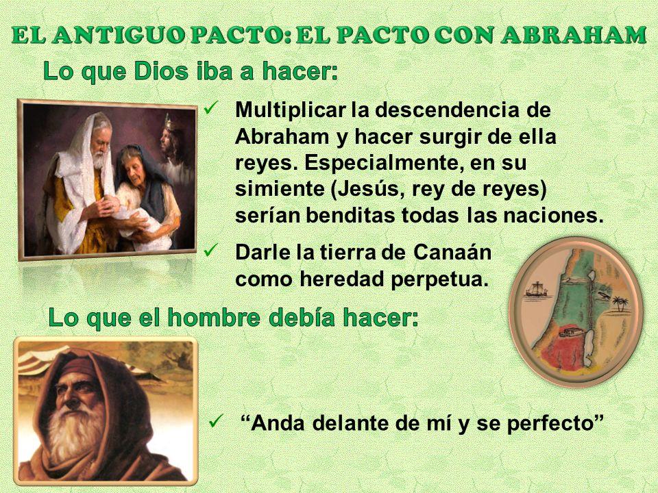 EL ANTIGUO PACTO: EL PACTO CON ABRAHAM