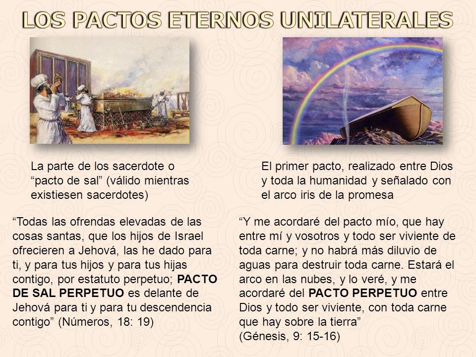 LOS PACTOS ETERNOS UNILATERALES