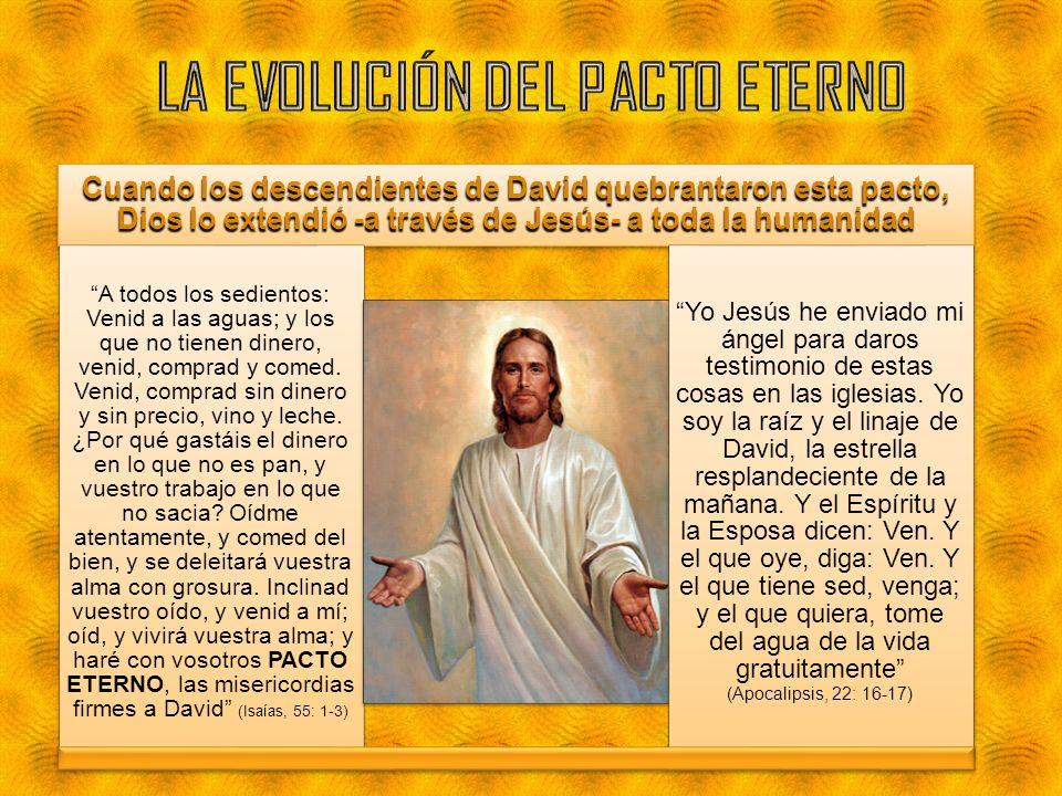 LA EVOLUCIÓN DEL PACTO ETERNO