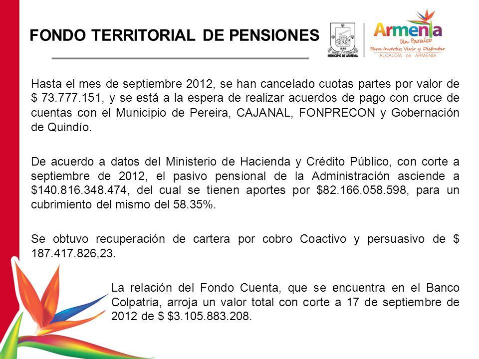 FONDO TERRITORIAL DE PENSIONES