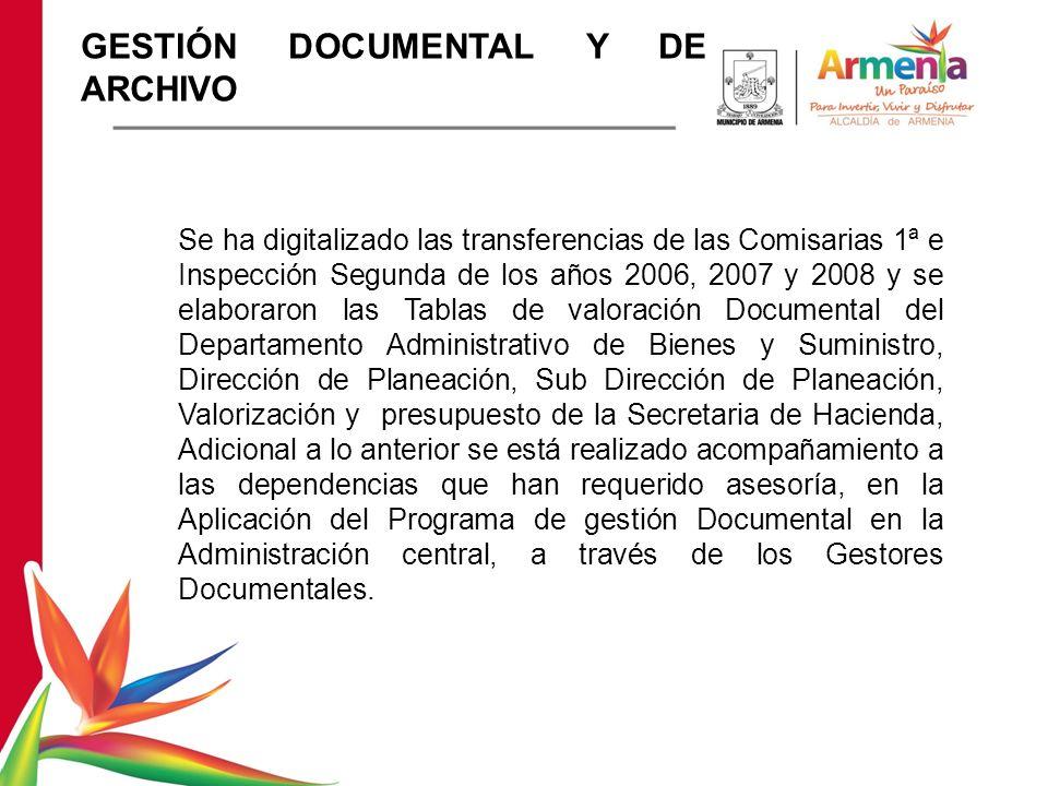 GESTIÓN DOCUMENTAL Y DE ARCHIVO