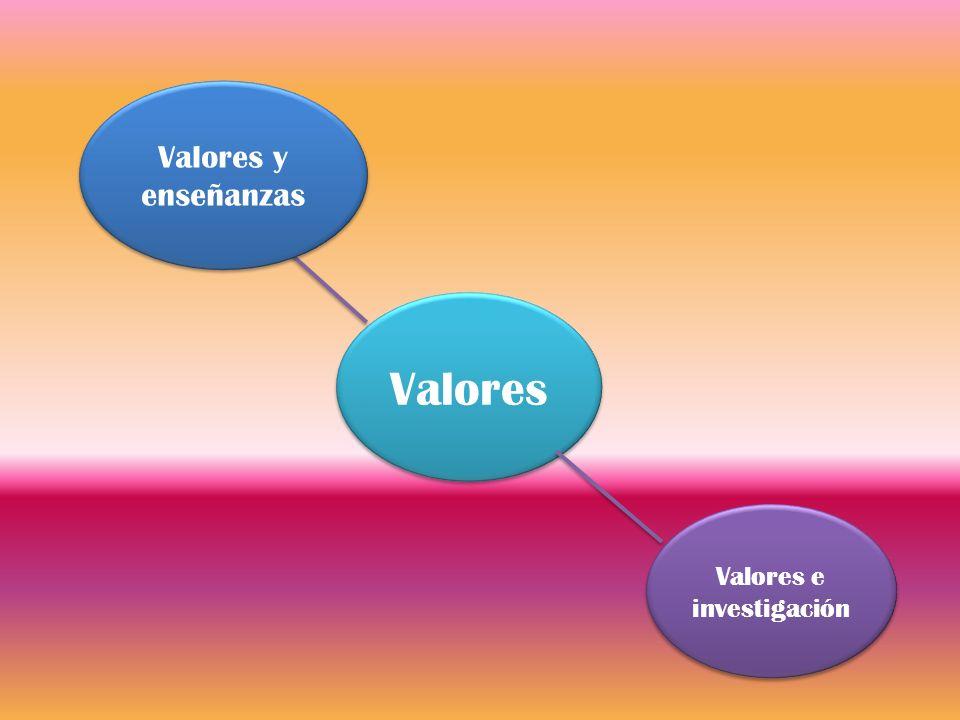 Valores e investigación