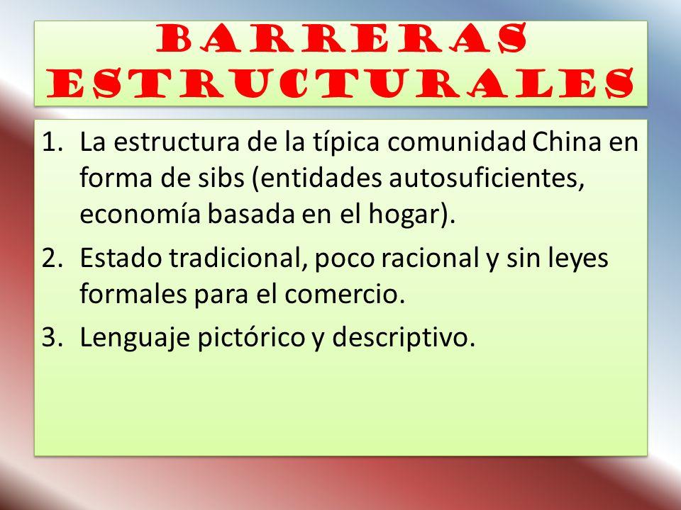 Barreras estructurales